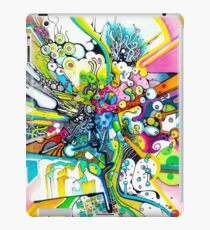 Tubes of Wonder - Abstract Watercolor + Pen Illustration iPad Case/Skin