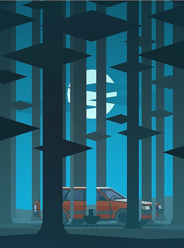 Kentucky Route Zero Car by maxio142
