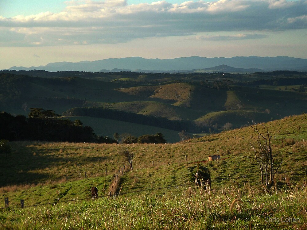 late afternoon over the Atherton Tablelands by Chris Cohen