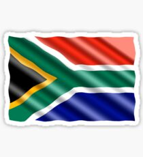 South African Flag Sticker
