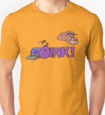 Gaming [C64] - Oink! Unisex T-Shirt