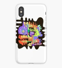 Abstract surreal graphic design background. iPhone Case/Skin