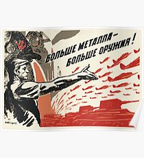 Soviet Visuals Poster