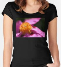 Pink Rockrose Women's Fitted Scoop T-Shirt