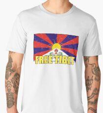 Free Tibet Tribute Men's Premium T-Shirt