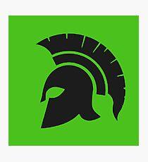Spartan Mask  Photographic Print