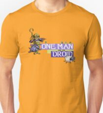 Gaming [C64] - One Man and his Droid Unisex T-Shirt