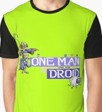 Gaming [C64] - One Man and his Droid Graphic T-Shirt