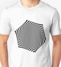 Hexagonal Fractal Whirpool T-Shirt