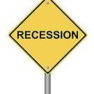 Warning Sign recession by Henrik Lehnerer