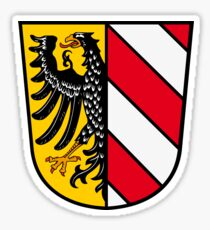 Nuremberg coat of arms Sticker