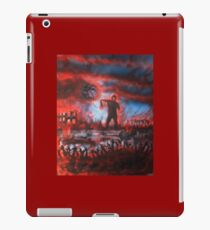 red zombies iPad Case/Skin