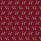 Beagle dog pattern cute gifts for dog lover dog breeds by PetFriendly by PetFriendly