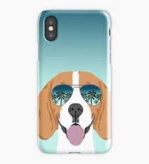 Beagle dog pattern ombre beagles summer cute gifts for dog lover dog breeds by PetFriendly  iPhone Case