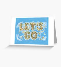 Let's Go Letter Islands Greeting Card