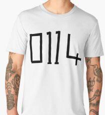 Arctic Monkeys - 0114 Drum Skin design  Men's Premium T-Shirt