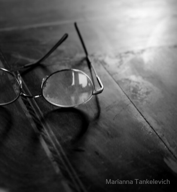 glasses by Marianna Tankelevich