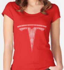 Tesla fan art - The Change Women's Fitted Scoop T-Shirt