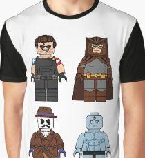 Lego Watchmen - Comics Minifigures Graphic T-Shirt