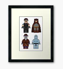 Lego Watchmen - Comics Minifigures Framed Print