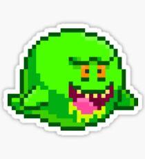 Slimer boo Sticker