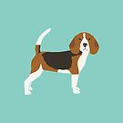 Beagle dog portrait  gifts for dog lover dog breeds by PetFriendly  by PetFriendly