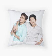 Song Joong Ki & Park Bo Gum Throw Pillow