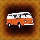 New Bay Campervan Orange (please see notes) by Ra12