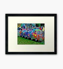 Super Truck Framed Print