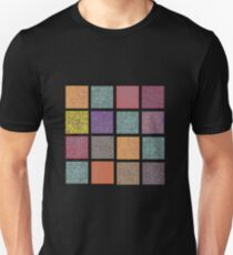Cuadros Arabescos Colores Unisex T-Shirt
