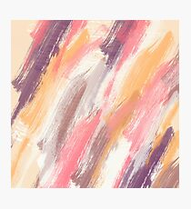 Abstract painting , colors of summer... Photographic Print