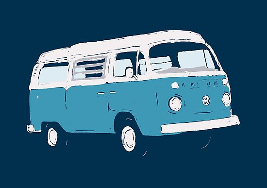 Bay Window Campervan Basic Colours (please see notes) by Ra12