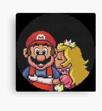 Super Mario All Stars Lost Levels Canvas Print