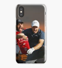 Jordan Spieth & Caddy Michael Greller at Traveler's Championship 2017 iPhone Case/Skin