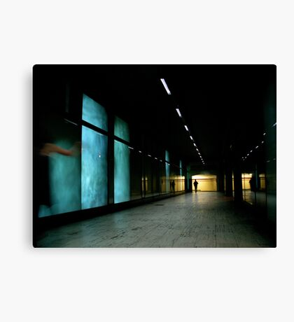 The Parting Canvas Print