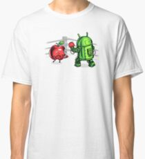 Apple vs Android Classic T-Shirt