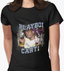 Playboi Carti 90s style SHOOTA Women's Fitted T-Shirt