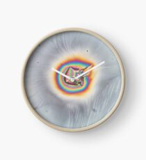Rainbow Wormhole Clock