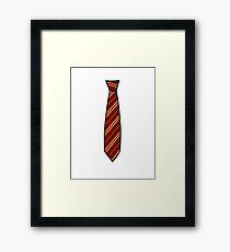 Potter-Tie Framed Print
