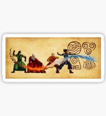 Avatar - The Last Air Bender Sticker
