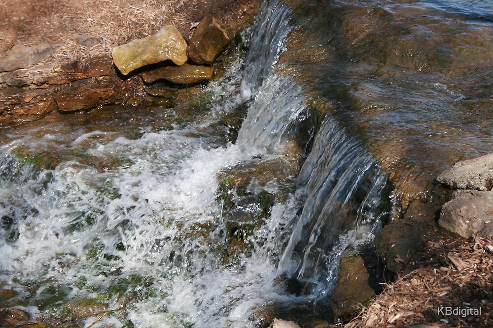 Manmade waterfalls by KBdigital