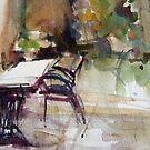 The Patio by Jean Cowan