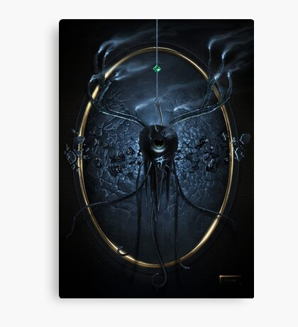 Decay - Digital Painting Canvas Print