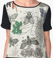 Moths and rocks. Chiffon Top