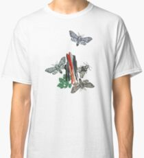 Moths and rocks. Classic T-Shirt