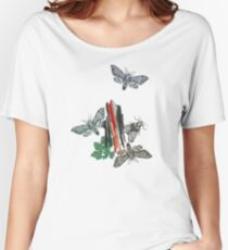 Moths and rocks. Women's Relaxed Fit T-Shirt