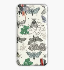 Moths and rocks. iPhone Case/Skin