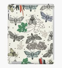Moths and rocks. iPad Case/Skin