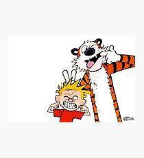 Calvin & Hobbes II Photographic Print