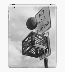Basketball never stops iPad Case/Skin